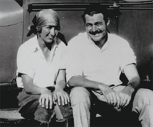 Frances Thorne (Bunny) Horne and Ernest Hemingway