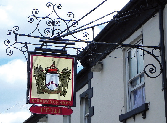 Barrington Arms Hotel, Shrivenham, England