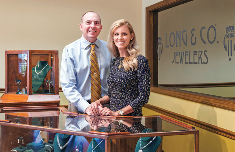 Julianne and Brian Long of Long & Co. Jewelers