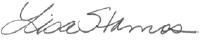 Lisa Stamos Signature