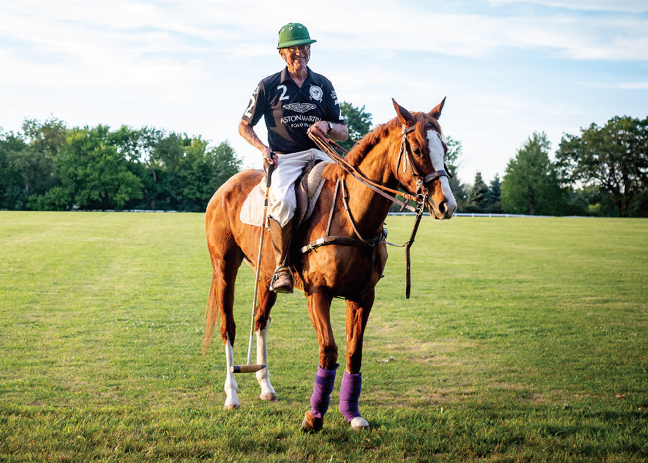 John Rosene is the chairman of the Barrington Hills Polo Club